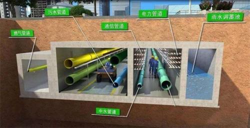 城市地下综合管廊消防机器人